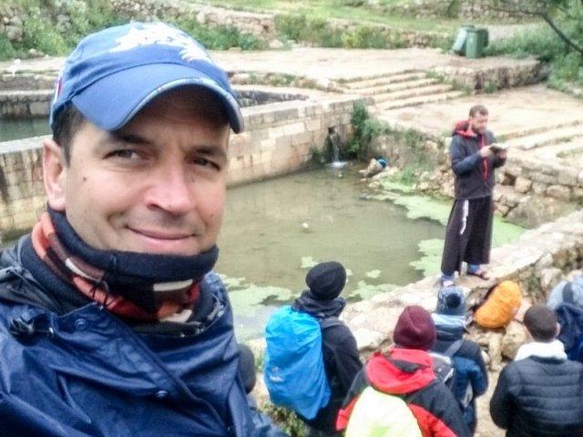 Come i discepoli… a piedi fino a Qubaybah