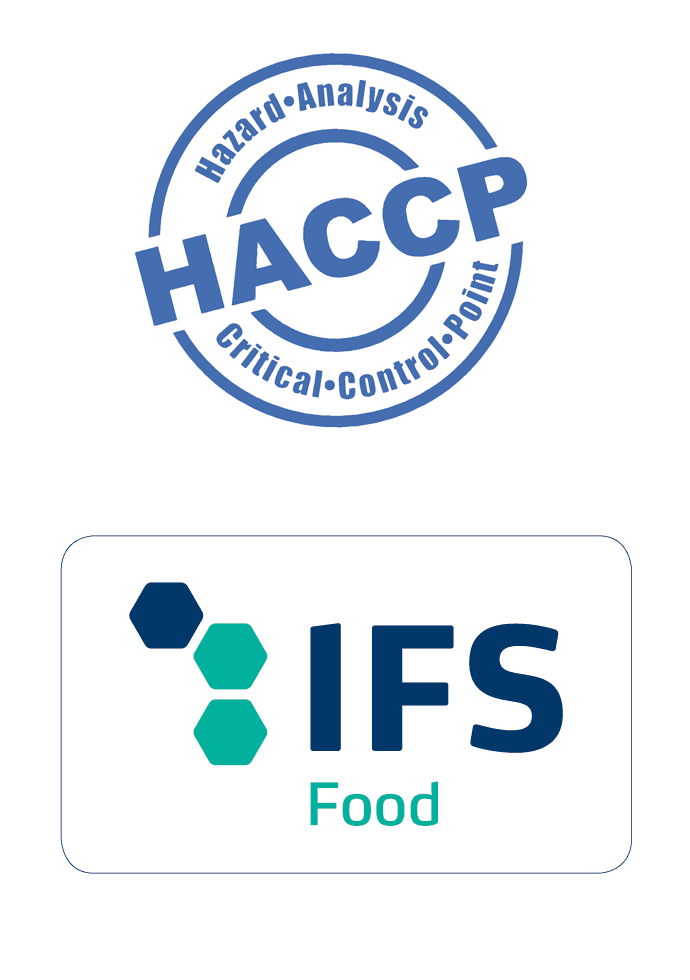 Logos HACCP et IFS Food