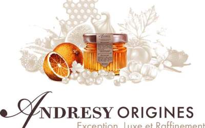 Andrésy Origines , Luxury jams that travel the world