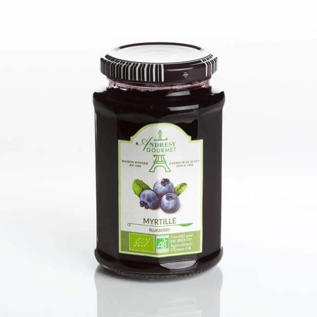 Confiture Bio Myrtilles