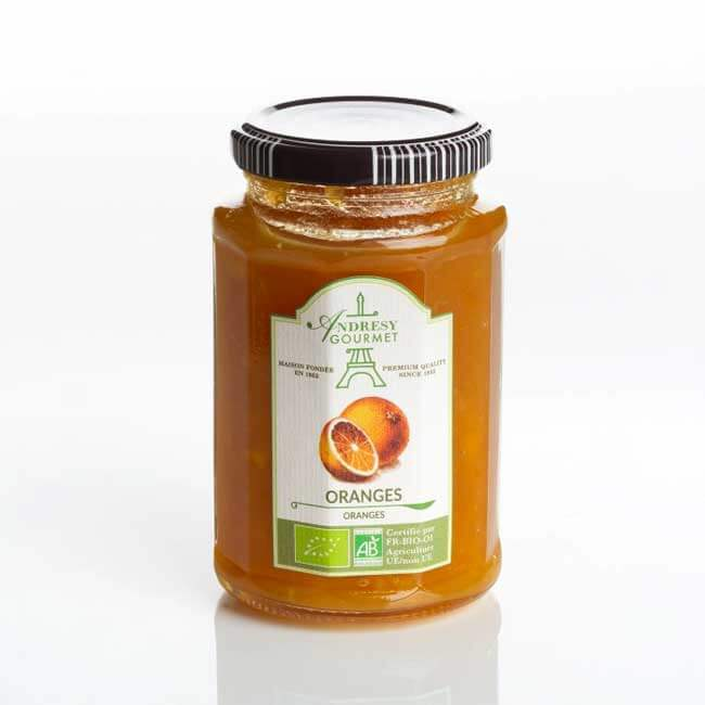 Confiture Bio Oranges