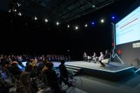 Main Stage At Sibos Conference