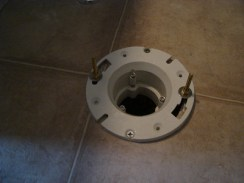 install a low flow toilet.