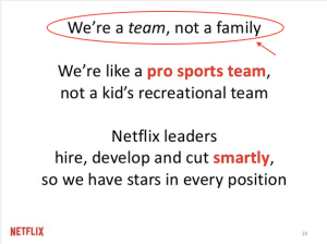 Netflix Culture Deck 발췌