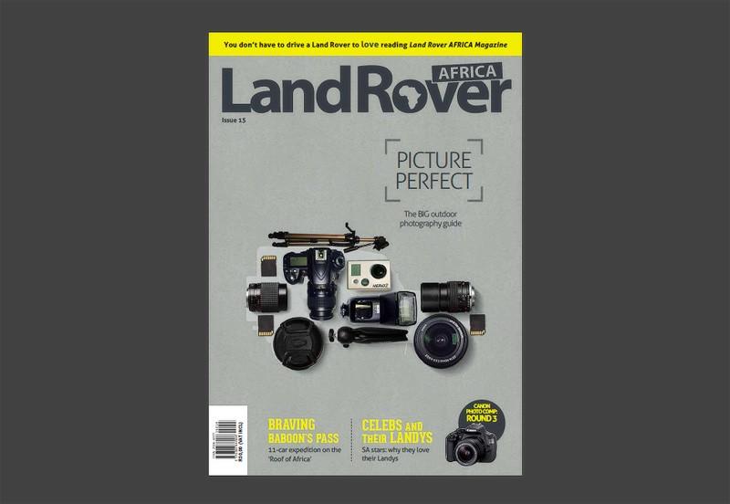 landrover magazine , interview with andrew aveley