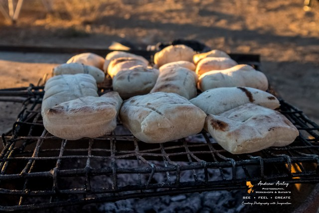 Karoo Experience - Roosterkoek on the hot coles for the hungry guests