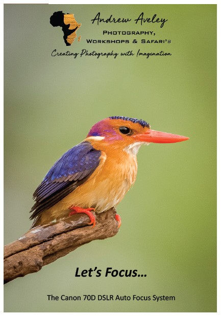 Canon 70D Focus EBook by Andrew Aveley, purchase on a secure online store