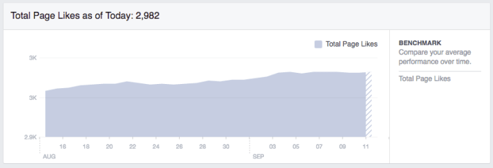 Facebook Insights Total Likes