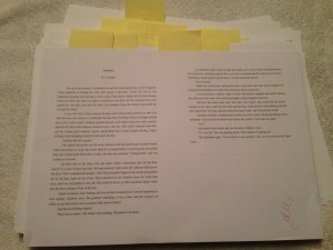 Editing Printed Pages