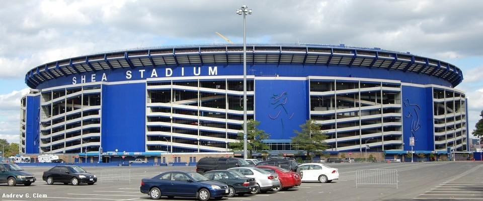 Shea Stadium ramps
