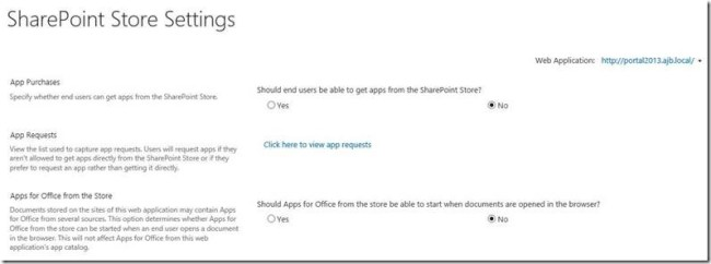 Sharepoint 2013 Requesting Apps Using The App Catalog Andrew J