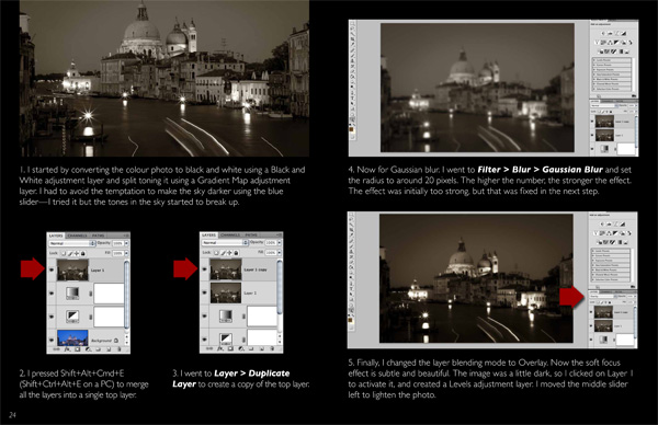 The Magic of Black & White: Part III - Nine Photos photography eBook
