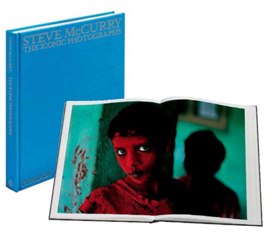 Iconic Photographs book by Steve McCurry