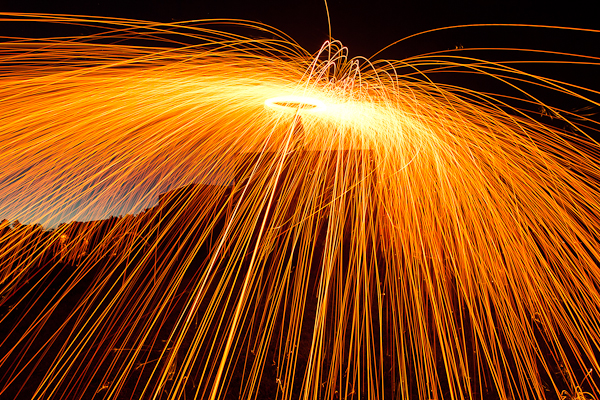 Steel wool spinning tutorial