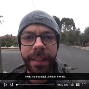add closed captions to videos example