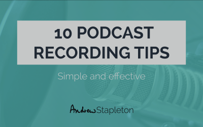 10 easy podcast recording tips that will make you sound like a pro!