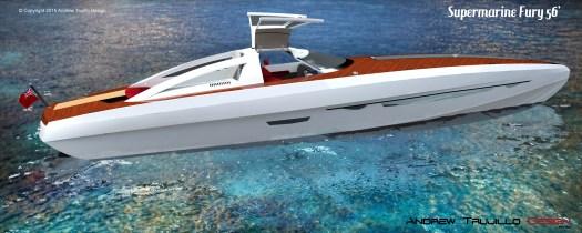 Motor Yacht Fury 56'