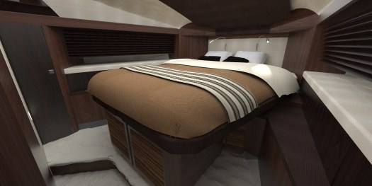 Master cabin design - Computer visual