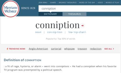 Crypto conniptions