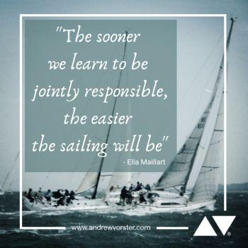 The sooner we learn