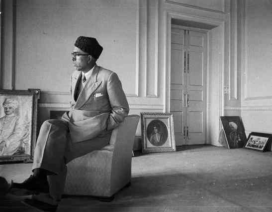 Sheikh Abdullah in 1947