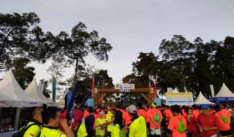 West Java Eco Marathon 2017: 4 Jam Perjalanan untuk Lari Setengah Jam