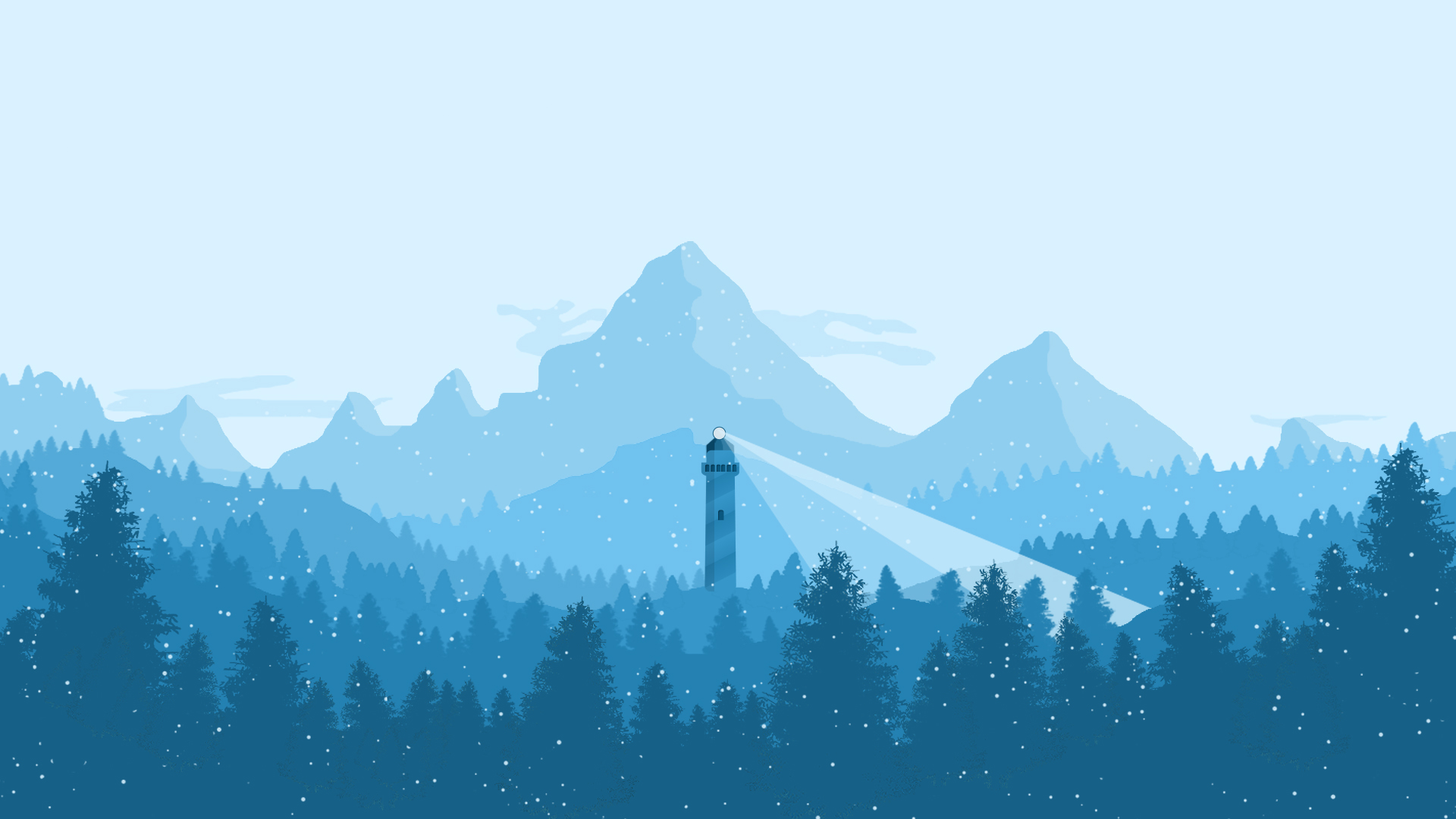 Top 5 wallpapers de paisajes minimalistas con estilo flat - 2d nature wallpapers ...