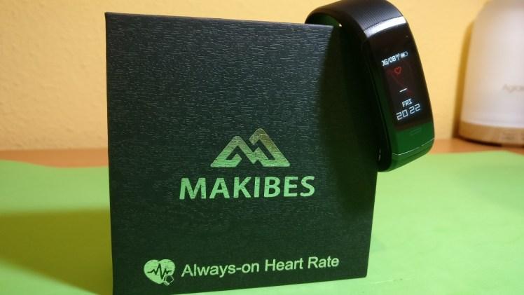Makibes HR3 – Pulsera de actividad con medidor de frecuencia cardíaca