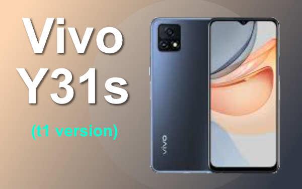 Vivo Y31s (t1 version)