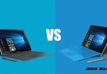 Galaxy book vs Surface Pro 4