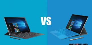 Galaxy book vs Surface Pro 4