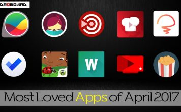 Most Loved Apps of 2017