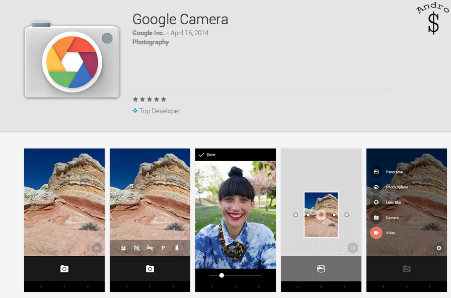 Google Camera – Google Play Store – www.androdollar.com