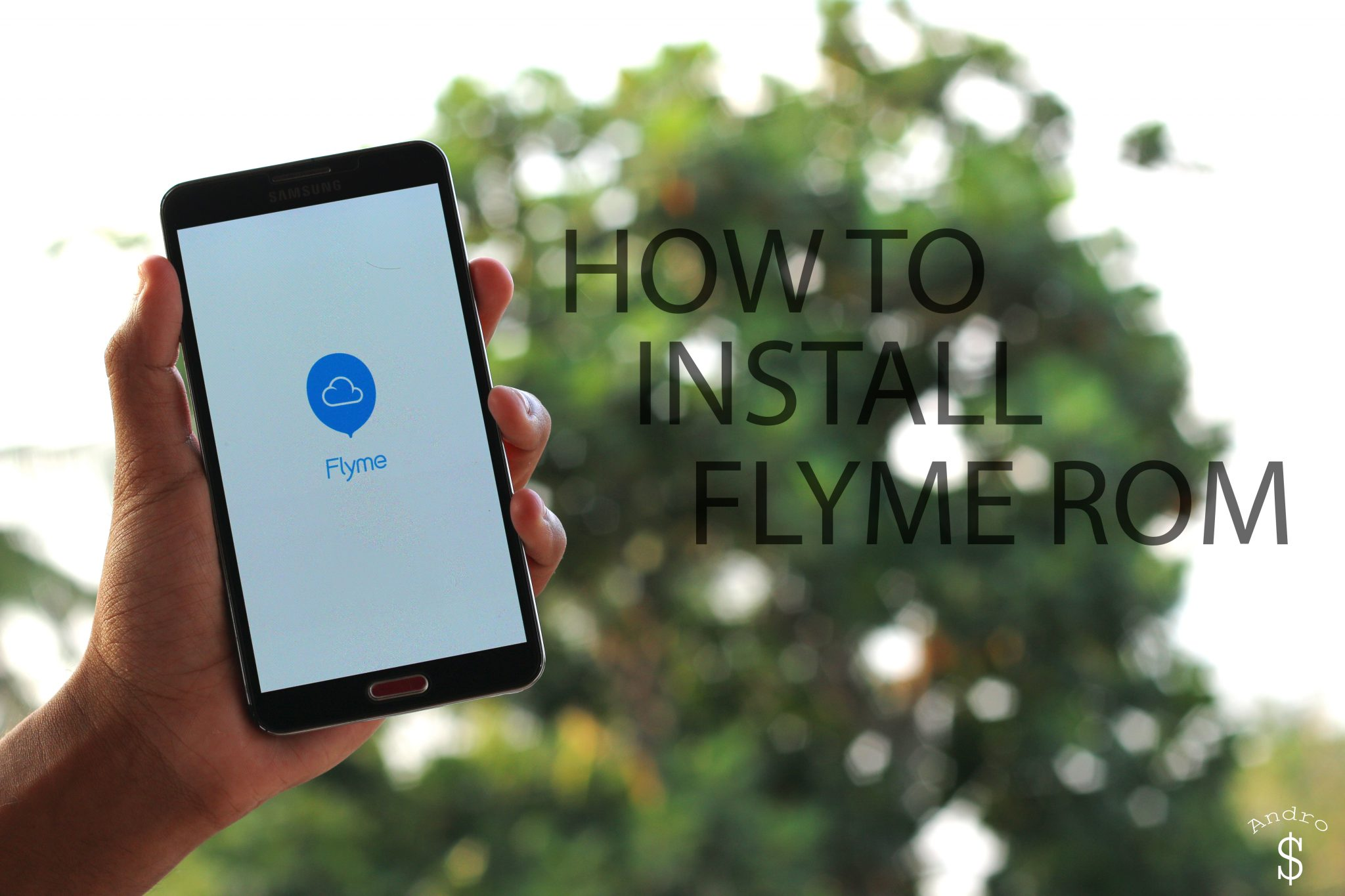 HOW TO INSTALL FLYME ROM