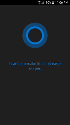 Cortana – Android – Andro Dollar1