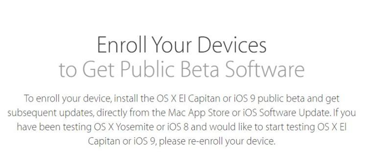 iOS 9 Public Beta5