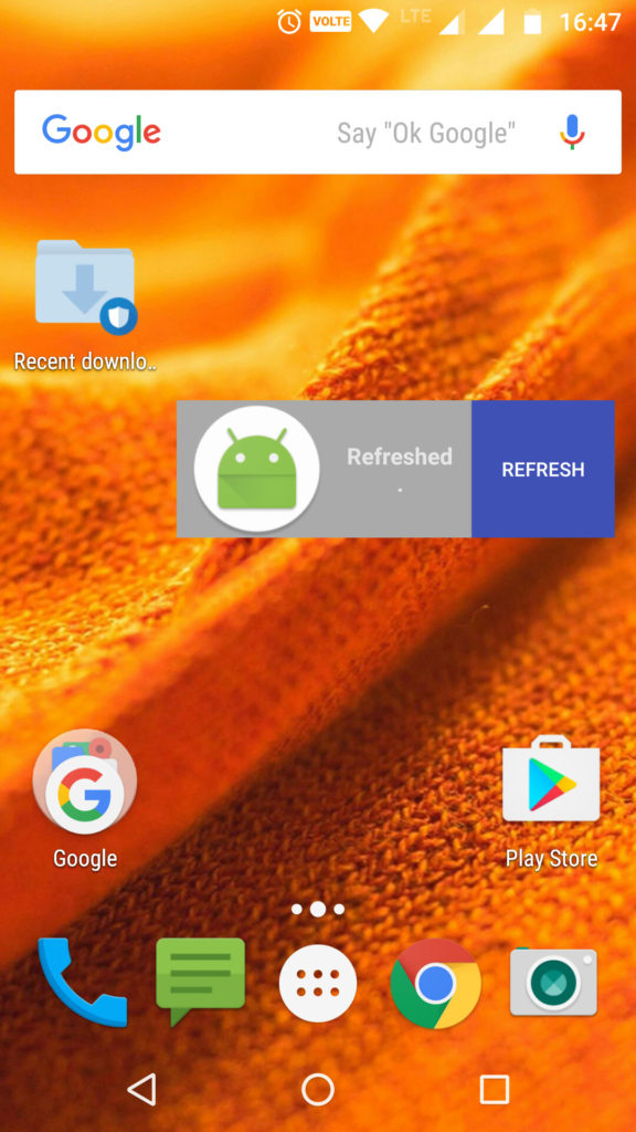 Android Home Screen Widgets - Androhub
