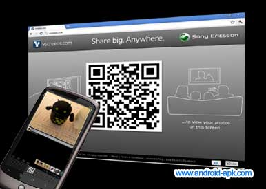 vscreens 將相片在電腦瀏覽器上播放 | Android-APK