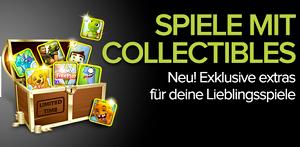 Android macht Werbung für Spiele mit Collectibles