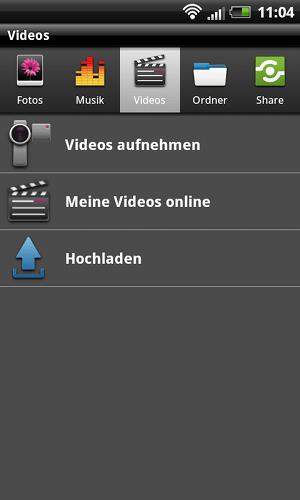 Zugriff per App auf das Mediencenter der Deutschen Telekom
