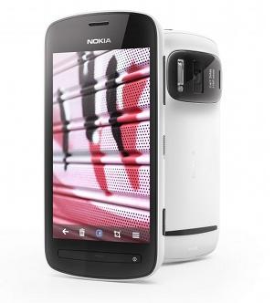 Eine 41 Megapixel-Kamera enthält das Nokia 808 Pureview