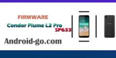 فلاشة كوندور Firmware CONDOR Plume L2 Pro SP633_V08_20180806