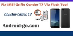 Fix IMEI Griffe Condor T7 Via Flash Tool