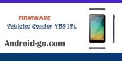 فلاش كوندور firmware tablette condor TB717L