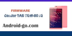 فلاش كوزندور Firmware Tablette Condor TGW-801G