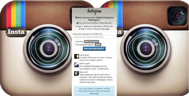 30-Methoden zur Wiederherstellung von Instagram-Direktnachrichten