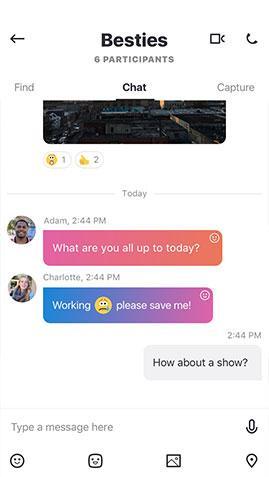 skype 8 chat