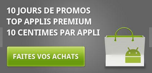 Super Promo Applis premium à 10 centimes sur le Market