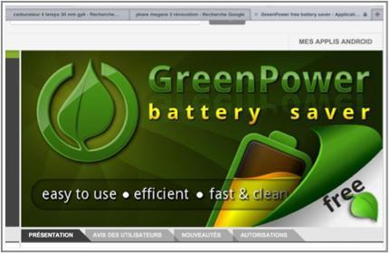 Economisez votre Batterie avec GREENPOWER free