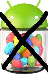 Au revoir Jelly Bean ?